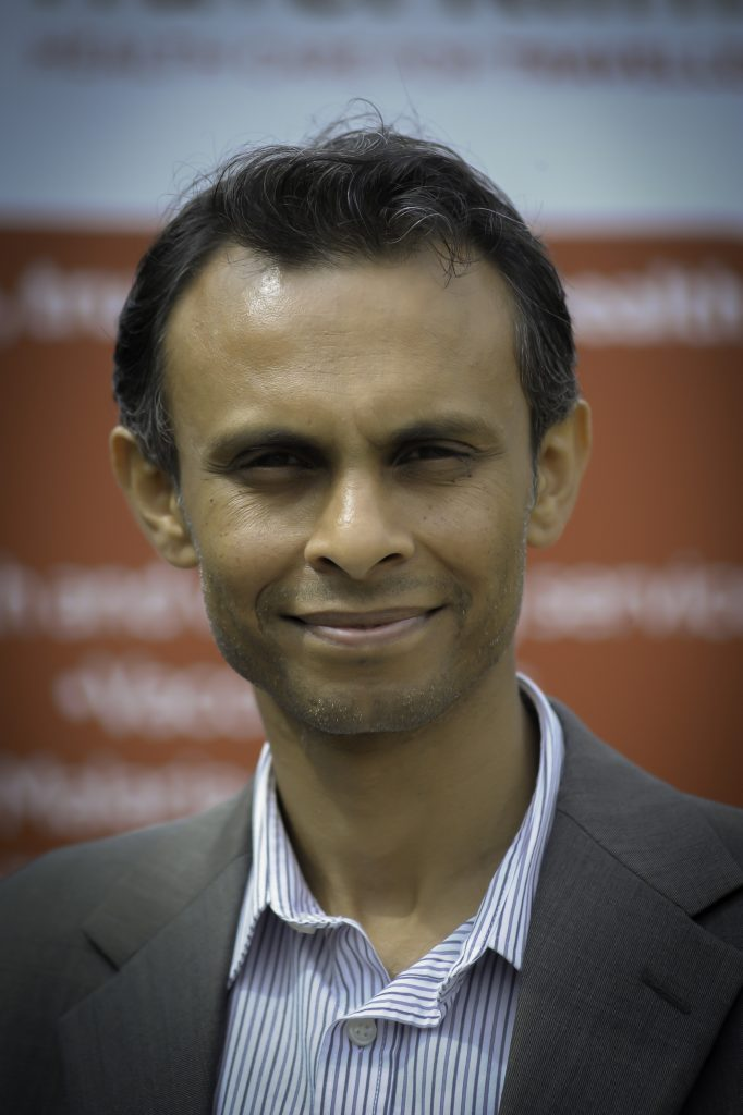 A picture of Dr Gowda, Director of Travel Klinix